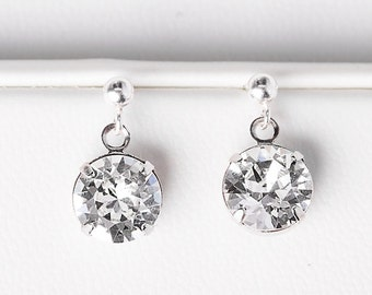 Beautiful Earrings - Elina Earring -  Earrings - Bridal Earrings - Beautiful Earrings - Crystal Drop Earrings - Beautiful Earrings