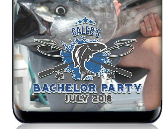 Bachelor Party Fishing Trip SnapChat filter - Custom Geofilter for fishing trip or party