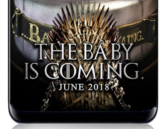 Game of Thrones themed SnapChat Filter - Baby Is Coming Baby Shower or Any event!