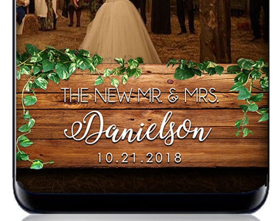Rustic, Wooden Barn Sign with Foliage Snap Chat Filter