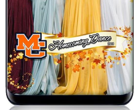 Fall Themed Homecoming Dance SnapChat Filter - Custom Mascot HomeComing Filter