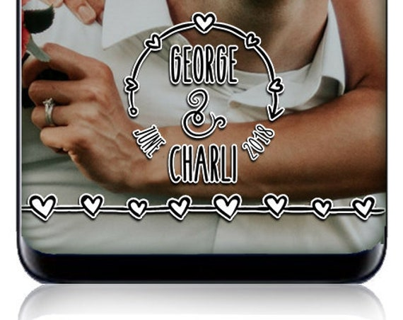 Hand Drawn Style Snap Chat Filter - Customize for any event!