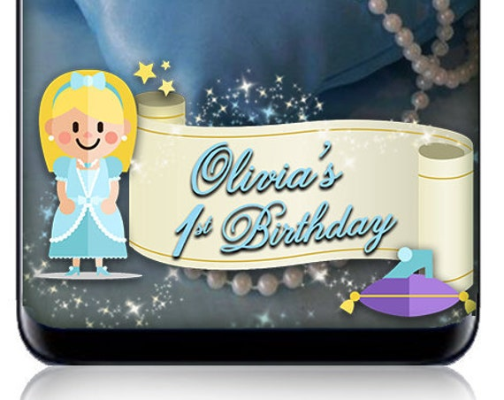 Cinderella Themed SnapChat Filter - Customize Geofilter for any event!