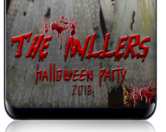 Halloween Snap Chat Filter - Custom Snap Filter - Bloody Halloween Party - Scary Decorations - Spooky signs
