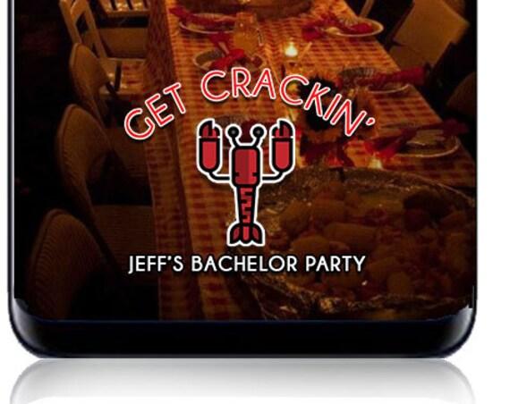 Crawfish boil or Lobster Themed Event SnapChat Filter - Custom Geofilter!