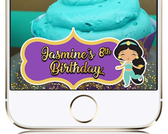 Princess Jasmine SnapChat Filter - Customize for any event!