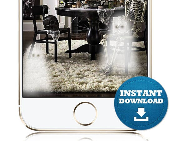 Add Ghosts to ANY Photo - INSTANT DOWNLOAD Ghosts Snap Chat Filter