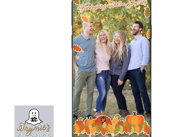 Thanksgiving Scene Personalized Family Filter!
