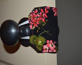Door Muffler for Nursery | Door Silencer for Baby | Shower gift | Black and Pink
