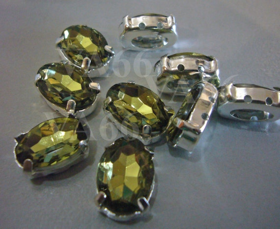 5 Mm X 10 Mm Facetado Cristal navette joyas de la configuración para Coser En 100 un