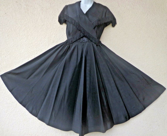 1950s DRESS by  Katja of Sweden nwith a Full Circl