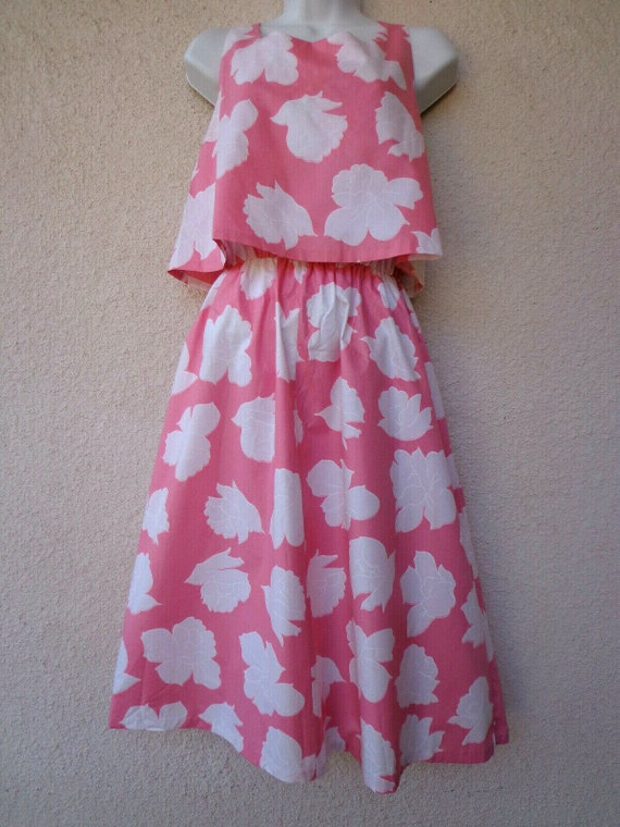 1950s Style Dress by Loungees with a Floral Print