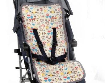 Stroller Liner| Pram liner| Stroller pad| baby jogger| maclaren baby| Stroller Cover| Pram Pad| Stroller padding| maclaren Stroller liner