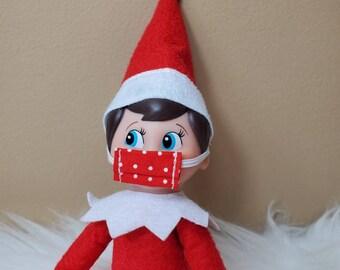 Mini Face Mask for Elf or Barbie