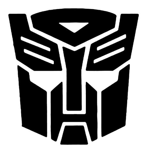 Transformers Autobot Vinyl Decal Bumper Sticker For Car Etsy