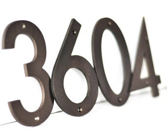 Metal House Numbers Etsy - Cheap metal house numbers