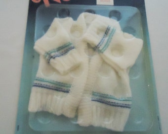 80s Doll Cardigan.Nenuco. In the original Box