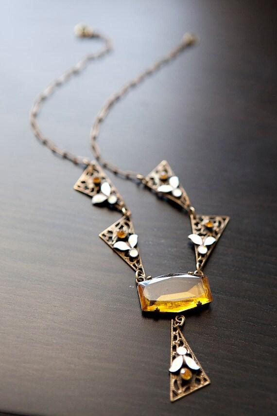Art Nouveau Vintage necklace