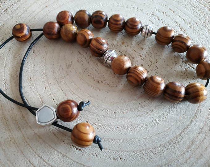 23 olive tree Greek worry beads