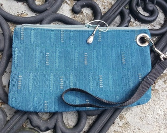 Bag made from Vintage Auto Upholstery Fabric