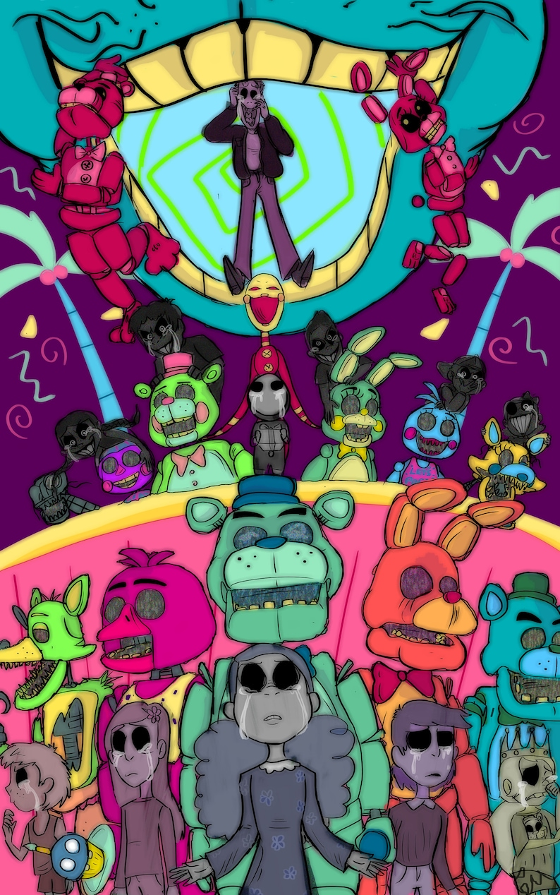 FNAF Five Nights at Freddy's Suits Emily image 0