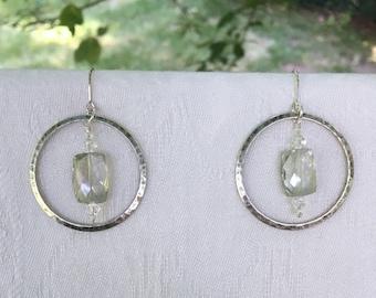 Earrings: Steely Soul
