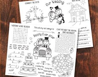 Wedding coloring book   Etsy