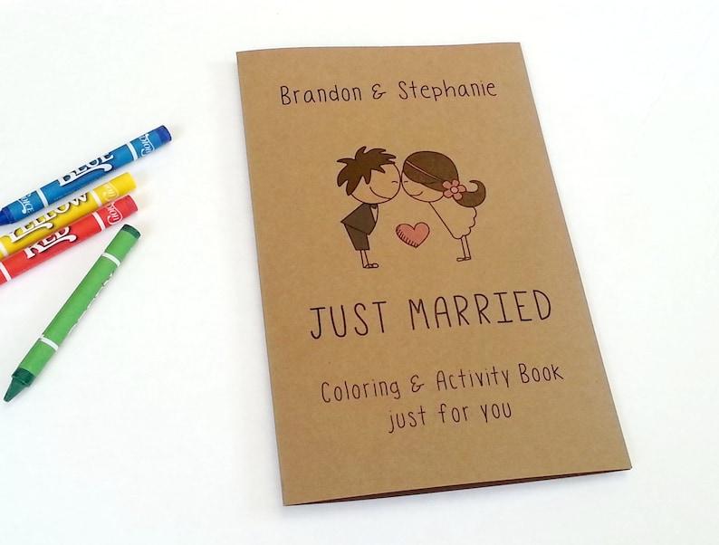 Wedding favor for kids / kids wedding coloring book / kids image 0