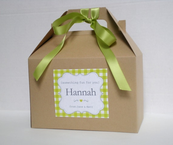 Personalized Kids Wedding Favor Box Wedding Favor Kid Etsy