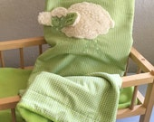 Baby blanket named cuddle blanket for babies gifts to give birth sheep shepherds