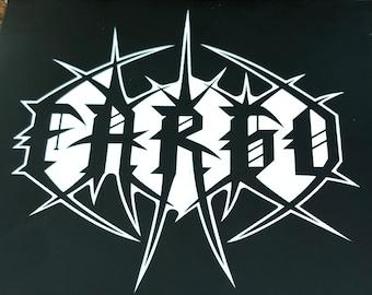 Fargo sticker pack of 5 — godheadSilo, Share the Fantasy, Noise Rock, Sludge, Moorhead, Olympia, PNW, Slaps, laptop, bumper, Ralphs, SubPop