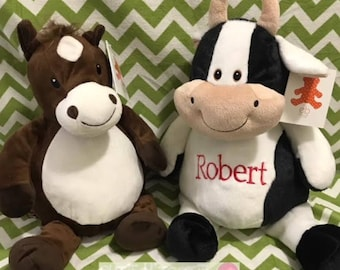 Horse and Cow cubbie