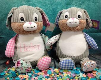 Harlequin Bunny cubbies