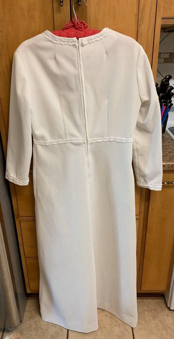 Vintage maxi dress, white vintage dress, vintage … - image 4