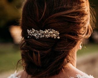 wedding hair comb pearl pearl hair comb wedding comb Crystal hair comb Rhinestone Bridal hair comb Rhinestone hair comb Bridal comb Prom