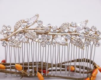 wedding comb silver Wedding hair comb blue Bridal hair accessories Blue Wedding head comb Prom hair comb Bridal hair comb Crystal hair comb