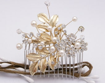 wedding hair comb vintage style Wedding headpiece Wedding hair accessories Bridal hair comb Crystal hair comb Bridal hair comb Prom hair pin