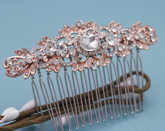 bridal hair comb rhinestone hair piece Wedding hair comb Crystal hair comb Wedding hair clip Bridal hair jewelry Wedding headpiece Bridal