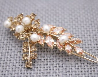 wedding hair comb for bride Wedding hair accessories Pearl hair comb Wedding hair pins Bridal hair jewelry Wedding hair clip Bridesmaid comb