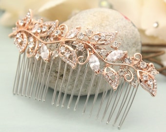 Gold / Rose Gold comb