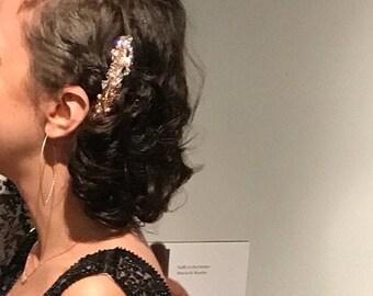 wedding hair comb pearl Wedding hair piece Wedding hair accessories Rose gold Bridal hair comb Silver,Gold Wedding comb,Wedding hair clips