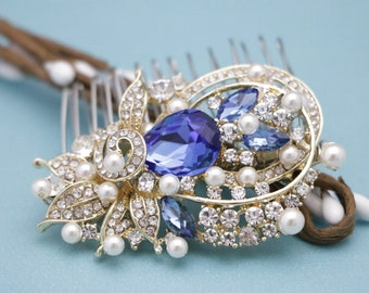 wedding hair comb pearl Bridal Rhinestone Pearl Comb,Bridal Comb Crystal,Wedding Crystal Hair Comb,Hair Comb,Wedding Accessory,Bridal comb