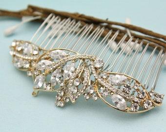 Wedding hair comb Pearl hair pins Wedding hair accessories Crystal hair comb Bridal hair jewelry Wedding comb Vintage style Bridal hair comb