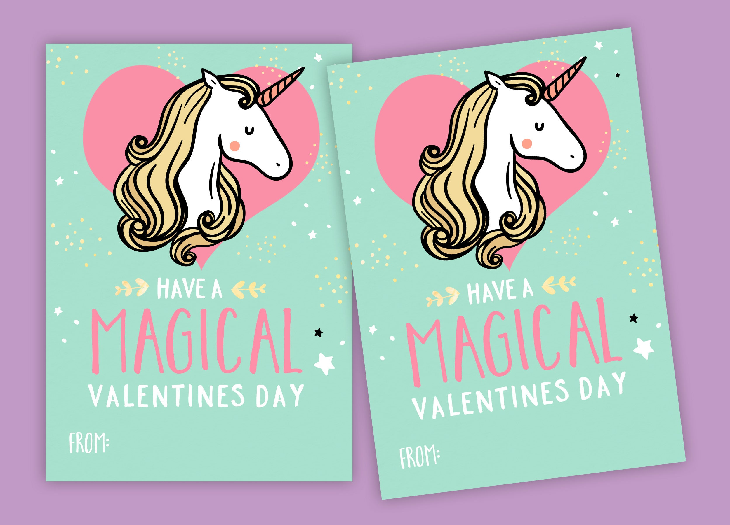 picture regarding Free Printable Unicorn Valentines referred to as Unicorn Valentines Working day Playing cards - printable Do it yourself card clroom, Valentine printable personalized words and phrases, print for young children clroom, Valentines Unicorn
