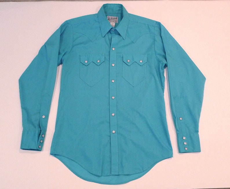 427f41cb8d Pearl Snap Western Shirt by Rockmount Ranch Wear 70s Vintage