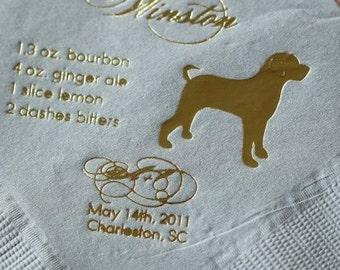 Custom Dog Silhouette