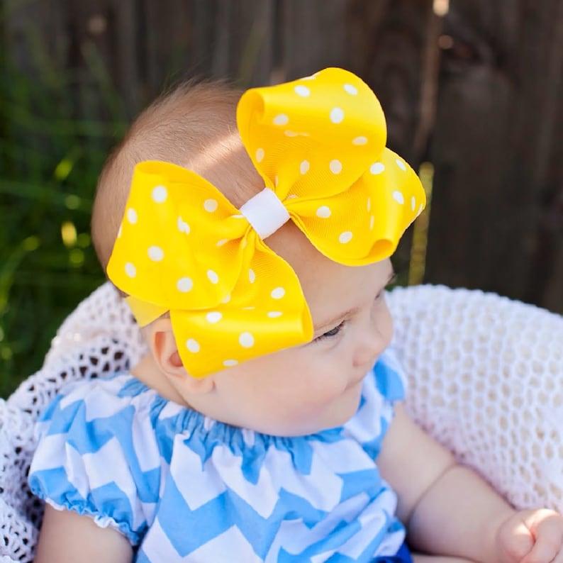 2e3f2730f26c9 Baby Headband/ Hairbow / Baby Hairbow / Baby Girl Gift /   Etsy