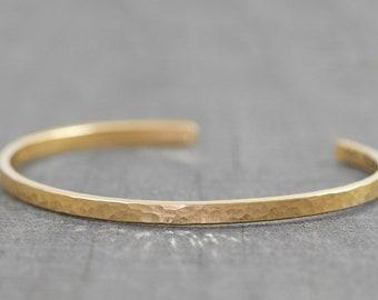 612e37c6594 Gold Bracelets for Women - Personalized Wedding Gift - Custom Engraved  Bracelet - Hammered Gold Cuff Bracelet - Thoughtful Gift for Her