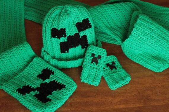 Minecraft Creeper Crochet Pattern Pack Etsy