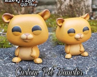 Pet Hamster - Custom Funko Pop